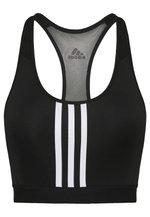 Sports bra - black/white