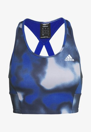 AEROREADY WORKOUT BRA LIGHT SUPPORT - Sports bra - royal blue/white