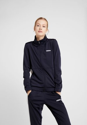 PLAIN TRIC - Trainingspak - dark blue/white
