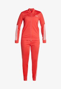 adidas Performance - ESSENTIALS 3STRIPES SPORT TRACKSUIT - Chándal - glow red - 6