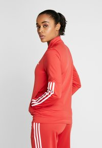 adidas Performance - ESSENTIALS 3STRIPES SPORT TRACKSUIT - Chándal - glow red - 2