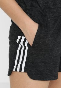 adidas Performance - ROMPER - Tracksuit - black melange/white - 5
