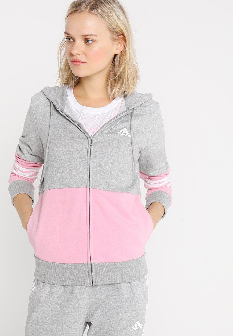 adidas Performance - ENERGIZE - Trainingsanzug - grey/pink