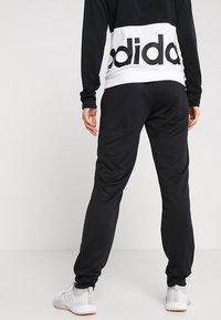 adidas Performance - LIN HOOD - Trainingspak - black/white - 4