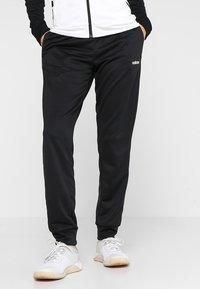 adidas Performance - LIN HOOD - Trainingspak - black/white - 3