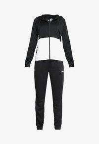 adidas Performance - LIN HOOD - Trainingspak - black/white - 6