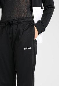 adidas Performance - LIN HOOD - Trainingspak - black/white - 7