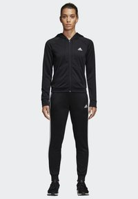 adidas Performance - BIG BADGE OF SPORT TRACKSUIT - Tracksuit - black - 0