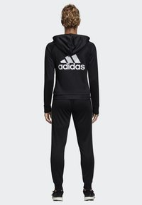adidas Performance - BIG BADGE OF SPORT TRACKSUIT - Tracksuit - black - 1