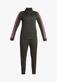 adidas Performance - TEAM SPORTS - Tracksuit - legear/black/reapink - 7