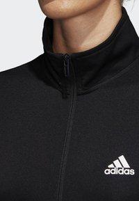 adidas Performance - TEAM SPORTS - Tracksuit - black/white - 3