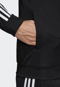 adidas Performance - TEAM SPORTS - Tracksuit - black/white - 4
