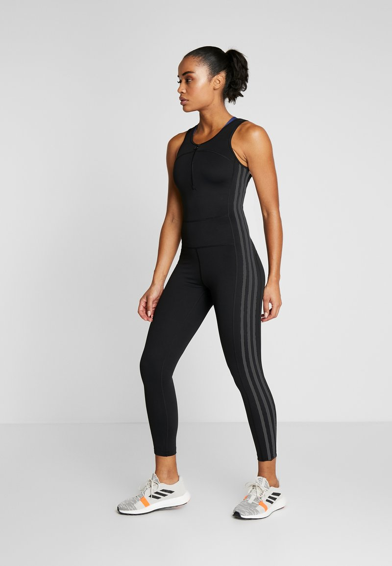 adidas Performance - BODYSUIT - Chándal - black