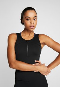 adidas Performance - BODYSUIT - Chándal - black - 3