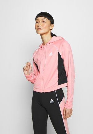 SET - Tracksuit - pink/black