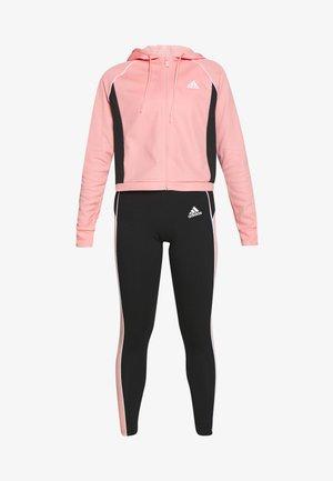 SET - Tracksuit - pink/black