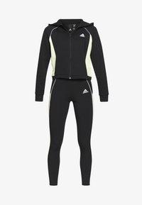 adidas Performance - SET - Treningsdress - black/yeltin - 6