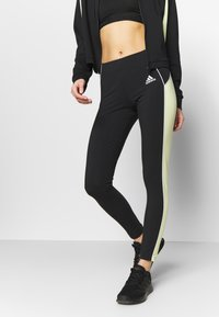 adidas Performance - SET - Treningsdress - black/yeltin - 3