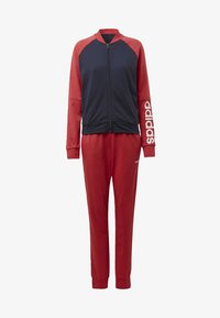 adidas Performance - TRACKSUIT - Tracksuit - blue/red/white - 7