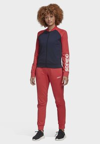 adidas Performance - TRACKSUIT - Tracksuit - blue/red/white - 0