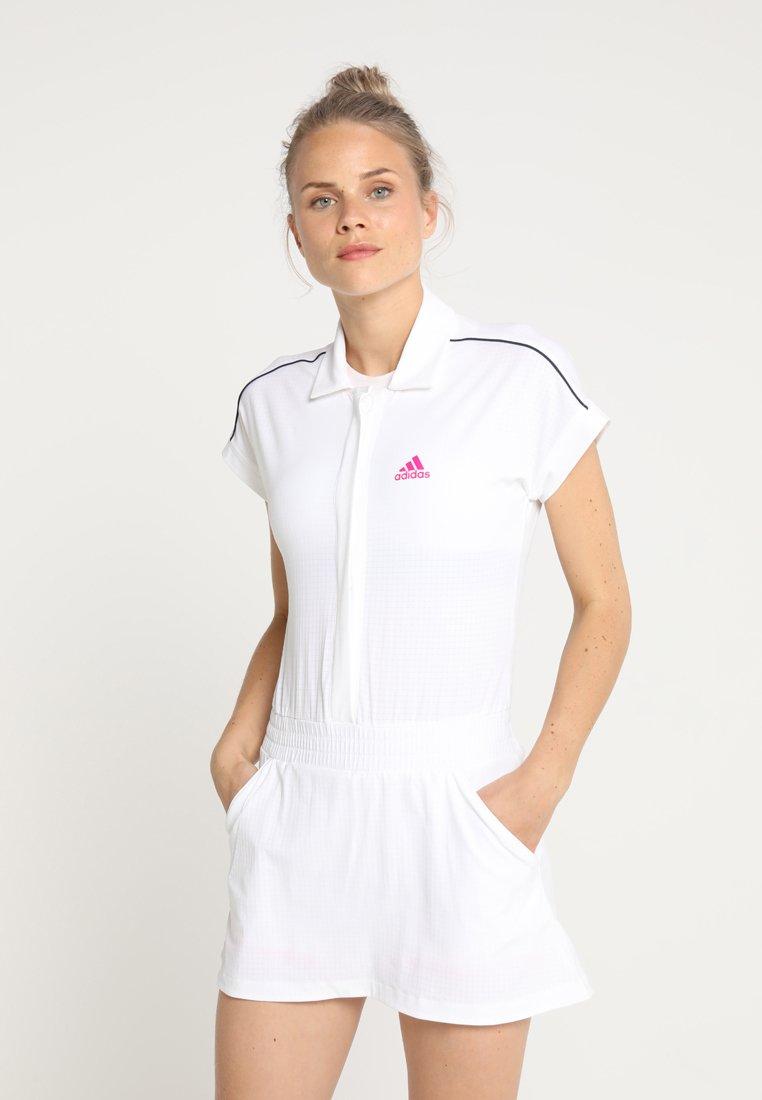 adidas Performance - SEASONAL DRESS - Sportovní šaty - white/pink