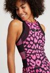adidas Performance - Jerseyklänning - shock pink/black