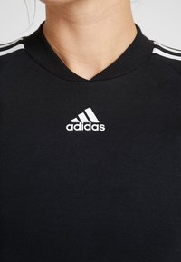 adidas Performance - DRESS - Jerseykjole - black - 5