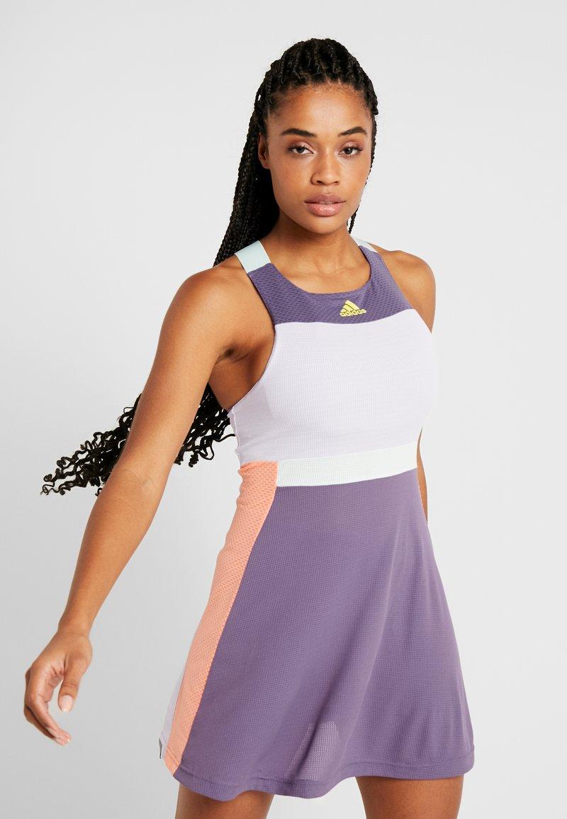 adidas Performance - DRESS HEAT.RDY - Sports dress - purple