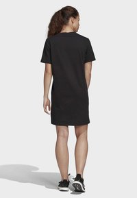 adidas Performance - MUST HAVES STACKED LOGO DRESS - Jersey dress - black - 2