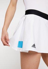 adidas Performance - ESCOUADE SKIRT - Sports skirt - white/black - 5