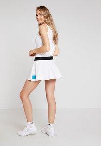 adidas Performance - ESCOUADE SKIRT - Sports skirt - white/black - 2