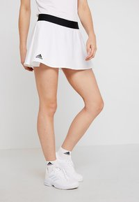 adidas Performance - ESCOUADE SKIRT - Sports skirt - white/black - 0