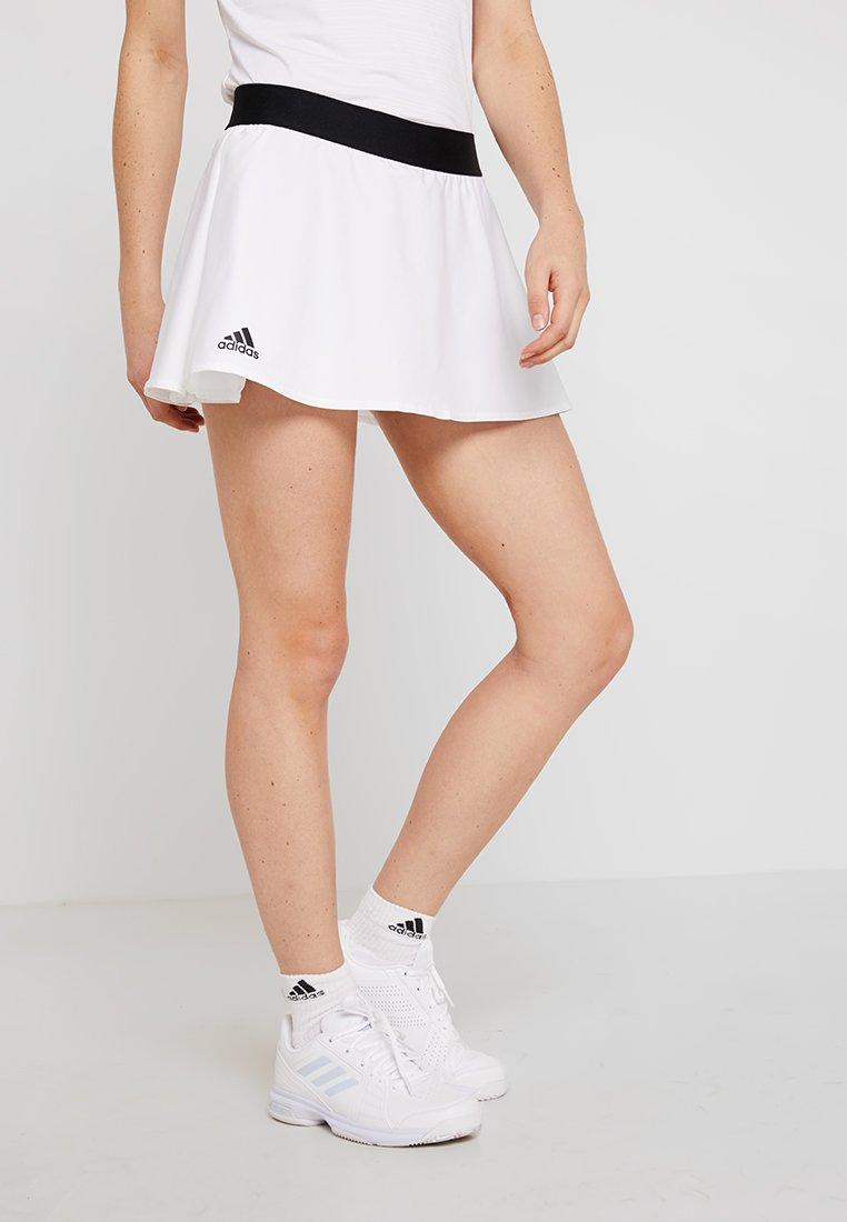 adidas Performance - ESCOUADE SKIRT - Sports skirt - white/black