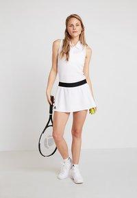 adidas Performance - ESCOUADE SKIRT - Sports skirt - white/black - 1