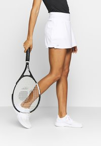 adidas Performance - CLUB SKIRT - Sportovní sukně - white/black - 0