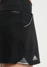 adidas Performance - CLUB SKIRT - Sportovní sukně - black - 6