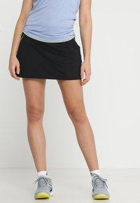 adidas Performance - CLUB SKIRT - Sportovní sukně - black - 0