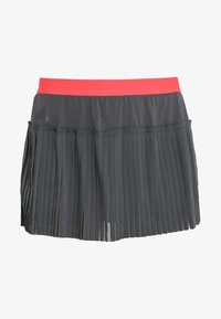 adidas Performance - SKIRT - Gonna sportivo - grey six/show red - 5