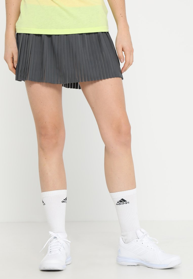 adidas Performance - SKIRT - Sportrock - grey six/show red