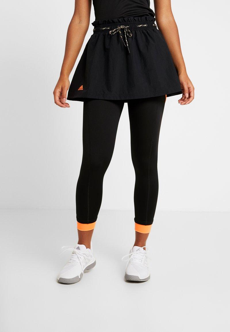 adidas Performance - 2-IN-1 SKIRT - Sports skirt - black