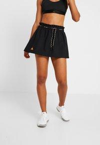 adidas Performance - 2-IN-1 SKIRT - Sports skirt - black - 4