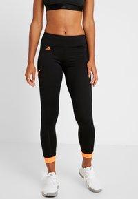 adidas Performance - 2-IN-1 SKIRT - Sports skirt - black - 3