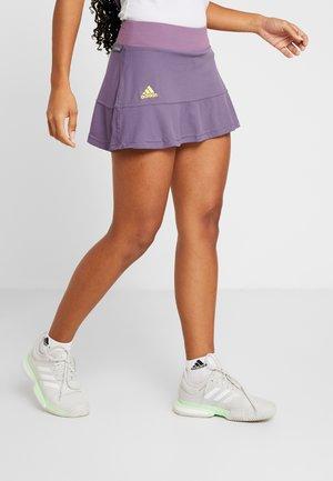 MATCH SKR H.RDY - Sports skirt - purple/neon yellow
