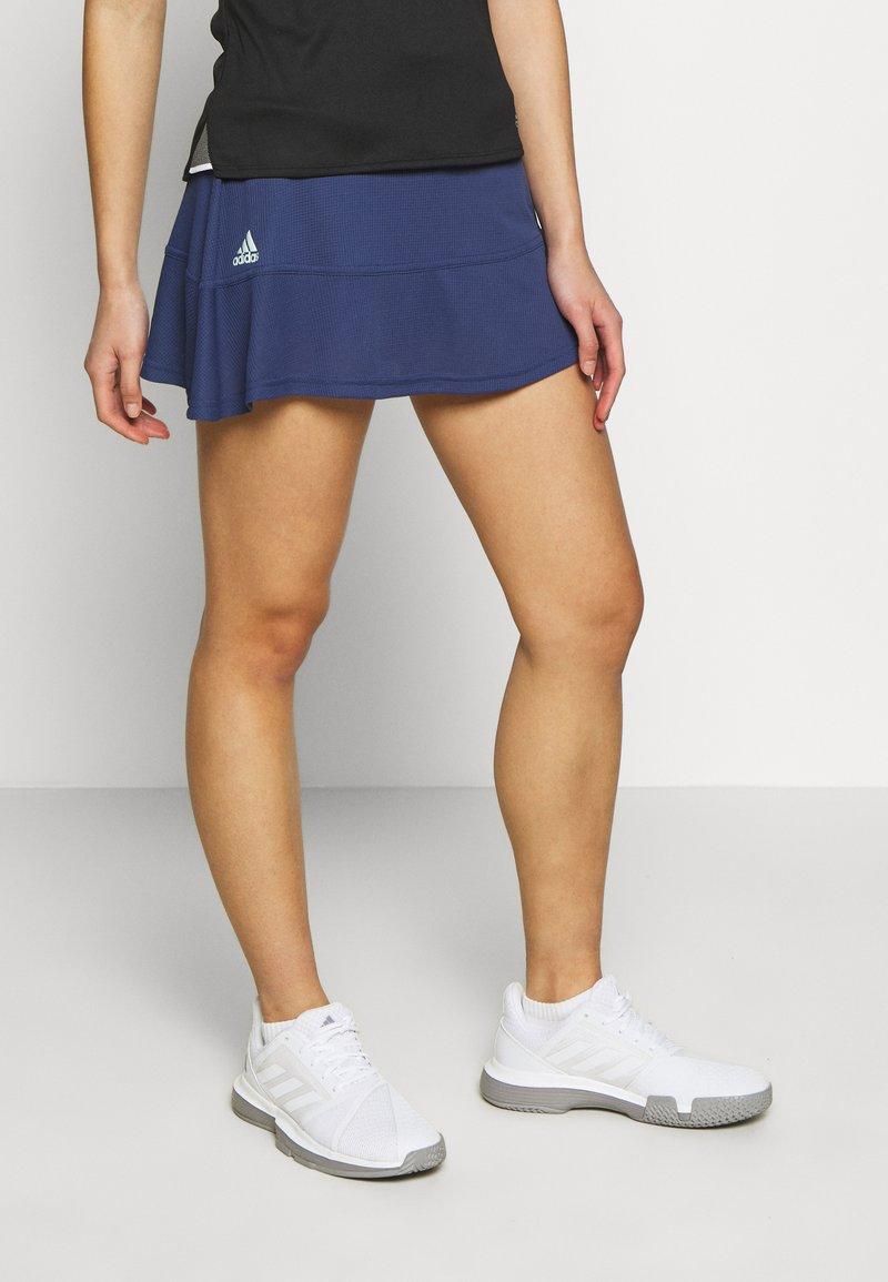 adidas Performance - MATCH SKR H.RDY - Sports skirt - blue