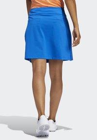 adidas Golf - ULTIMATE SPORT SKIRT - Gonna sportivo - blue - 2