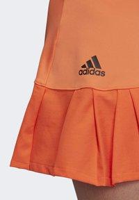 adidas Performance - PRIMEBLUE MATCH SKIRT - Sports skirt - orange - 6