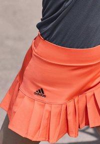 adidas Performance - PRIMEBLUE MATCH SKIRT - Sports skirt - orange - 3
