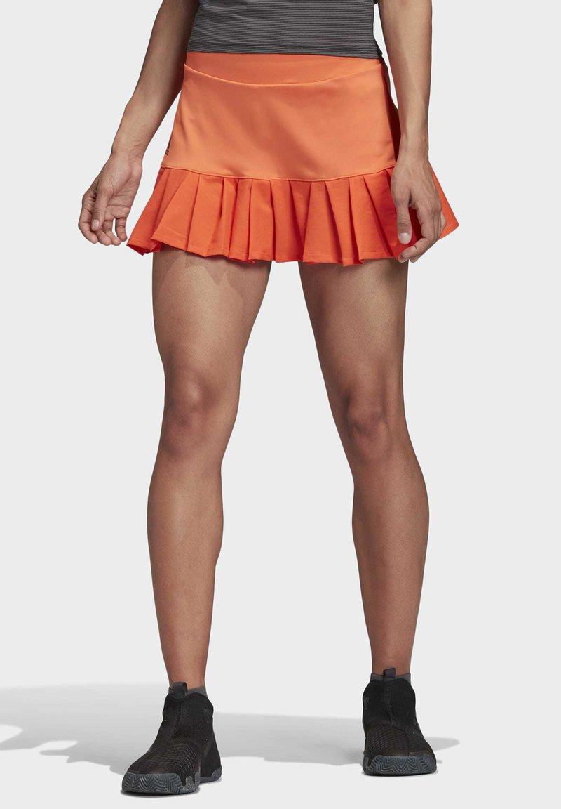 adidas Performance - PRIMEBLUE MATCH SKIRT - Sports skirt - orange