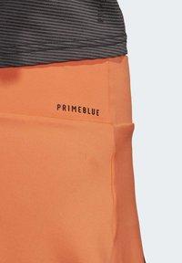 adidas Performance - PRIMEBLUE MATCH SKIRT - Sports skirt - orange - 5