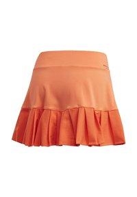 adidas Performance - PRIMEBLUE MATCH SKIRT - Sports skirt - orange - 11
